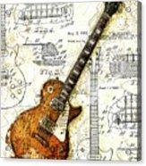 The 1955 Les Paul Custom Acrylic Print