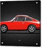 The 1965 Porsche 911 Acrylic Print
