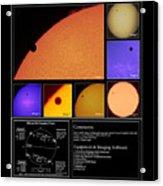 The 2012 Transit Of Venus Acrylic Print