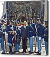 The 54th Regiment Bos2015_191 Acrylic Print