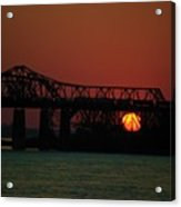 The 55 Bridge Acrylic Print