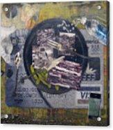 the 7 contemporary sins - Gluttony Acrylic Print