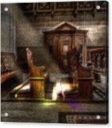 The Abbey Acrylic Print