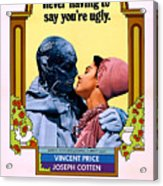 The Abominable Dr. Phibes, From Left Acrylic Print by Everett