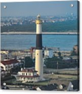 The Absecon Lighthouse In Atlantic City New Jersey Acrylic Print
