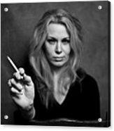 The Actress Acrylic Print
