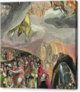 The Adoration Of The Name Of Jesus Acrylic Print