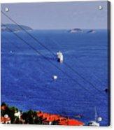 The Adriatic Sea Acrylic Print