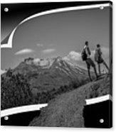 The Adventure Awaits Acrylic Print