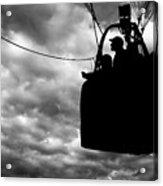 The Adventure Begins  Hot Air Balloon Acrylic Print by Bob Orsillo