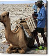 The Afar People  Acrylic Print