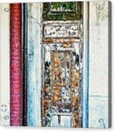 The Aged Door Acrylic Print