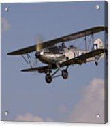 The Aircraft Acrylic Print