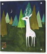 The Albino Deer Acrylic Print