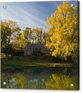 The Alexander Farm And Pond Acrylic Print
