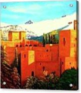 The Alhambra Of Granada Acrylic Print