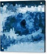 The All Seeing Blue Eye Acrylic Print