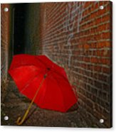 The Alley Acrylic Print