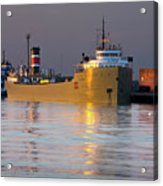 The Alpena At Rest Acrylic Print