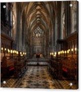 The Altar Acrylic Print
