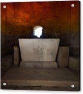 The Altar - L'altare Acrylic Print