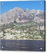 The Amalfi Coast - Panorama Acrylic Print