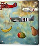 The Amazing Race 6 Acrylic Print by Leah Saulnier The Painting Maniac