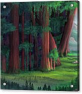 The Ancient Forest Acrylic Print