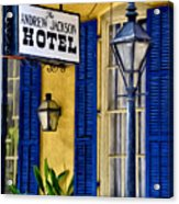 The Andrew Jackson Hotel - New Orleans Acrylic Print