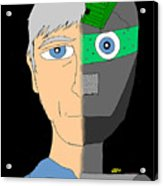 The Android- Douglas Kerrigan Acrylic Print