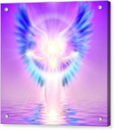 The Angel Of Divine Protection Acrylic Print