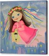 The Angel Of Light Acrylic Print