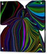 The Angel Of The Rainbow Acrylic Print