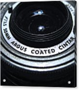 The Angle Of The Lens Acrylic Print
