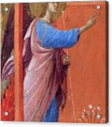 The Annunciation Fragment 1311 Acrylic Print
