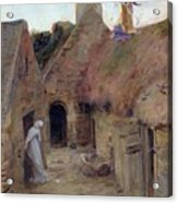 The Annunciation Acrylic Print by Luc Oliver Merson