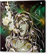The Anti-heroine Acrylic Print
