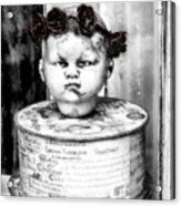 The Antique Doll's Head Acrylic Print