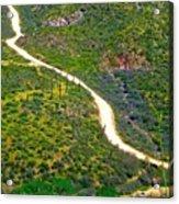 The Apache Trail Acrylic Print