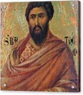 The Apostle Bartholomew 1311 Acrylic Print