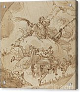 The Apotheosis Of San Vitale Acrylic Print