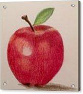 The Apple Acrylic Print