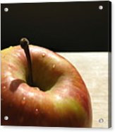 The Apple Stem Acrylic Print by Kim Pascu