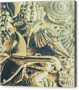 The Aquatic Abstraction Acrylic Print
