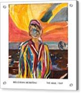 The Arab Acrylic Print