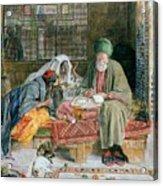 The Arab Scribe Cairo Acrylic Print