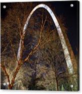 The Arch 3 St Louis Missouri Gateway Arch Art Acrylic Print