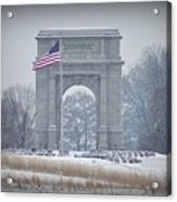 The Arch At Valley Forge Acrylic Print