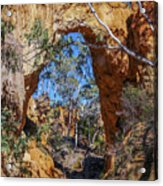 Golden Gully Gold Mine Acrylic Print