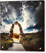 The Arch On The Edge Of Forever Acrylic Print
